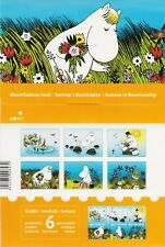 MoominIn In Summer Official Finland Post Set Mint Postcards + Stamp Booklet 2007