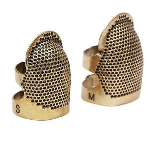 1pcs Retro DIY Hand Sewing Thimble Finger Shield Protector Ring Craft Metal M9U2