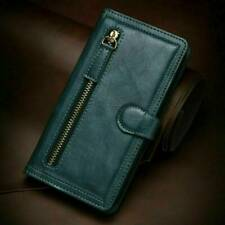 Magnetic Flip Leather Zipper Wallet Case Cover For iPhone 11 Pro X XS Max XR 8 7