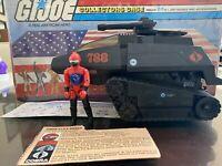 Hasbro GI Joe Cobra HISS Tank with Driver 1983 ARAH Vehicle W/ Card & Blueprint