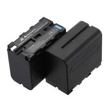 Powerextra 2 Pack Replacement Sony NP-F970 Battery Compatible with Sony DCR-VX21