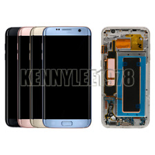 LCD Display Touch Screen Digitizer+Frame For Samsung Galaxy S7 Edge G935F+cover