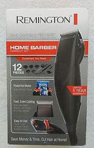 Remington Home Barber Haircutting Kit Hair Clipper Kit 12 Piece Haircutting Set