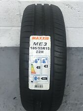1 x 185/55 R15 Maxxis Mecotra ME3 82H 185 55 15 (1855515) - ONE TYRE (NEW)