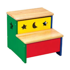Guidecraft G98039 Moon and Stars - Primary Colors Storage Step-Up