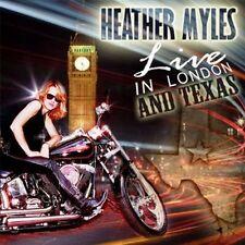 Heather Myles - Live in London & Texas [New CD] UK - Import