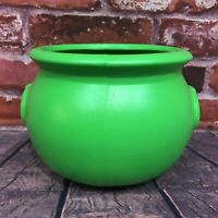Union Products Blow Mold Halloween Vintage 1987 Witches' Cauldron Green Bucket