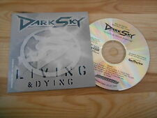 CD ROCK DARK SKY-LIVING & Dying (13) canzone PROMO AOR Heaven/Soul Food