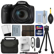 Canon PowerShot SX540 HS 20.3MP Digital Camera 50x Optical Zoom + 16GB Kit