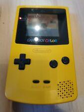 GBC - Nintendo Game Boy Color in Gelb Gameboy funktionstüchtig