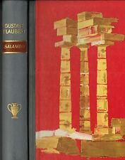 Gustave Flaubert, Salambo, hist. Karthago Roman um Tochter v Hamilkar, Halbleder