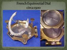 French Equicnoctial Sundial circa 1900, Exc. Condition