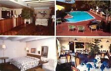 Town House Motel Hotel Pueblo Colorado Best Western Santa Fe Ave. Postcard
