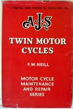 AJS Twins 1950-56 PEARSONS Motorcycle Owners Handbook 1956 1st Edition