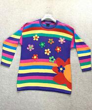RARE Women's ESCADA MARGARETHA LEY Sweater Cardigan Jumper 42 M - L UK 14 US 10
