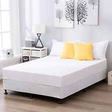 King Size Platform Metal Bed Frame Bedroom Furniture Mattress Foundation