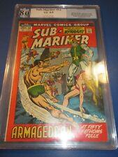 Sub-mariner #51 1st Full Namorita Bronze age PGX 8.0 VF Beauty  Wow JP