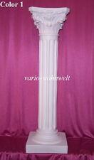 Säule Säulen Lampe Schale Figur Statue Vase  Büste 1005 / Material : Stuckgips