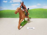 Britains Deetail Wild West Mounted Indian (lot 3290)