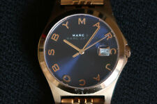 MARC JACOBS MBM3316 WOMEN'S WATCH BLUE & ROSE GOLD TONE LADIES WATCH A CLASSIC
