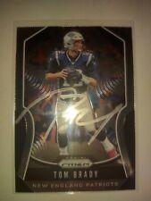Tom Brady Autographed Card 2019 Panini Prizm.  Patriots