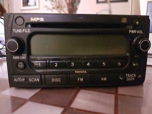 Genuine Toyota Avensis MP3 Stereo