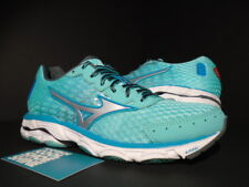 2015 WOMEN MIZUNO WAVE INSPIRE 11 MINT GREEN TEAL WHITE GREY RED NEW 7