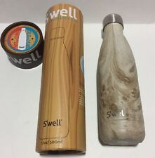 S'Well The Wood Collection Insulated Stainless Steel Water Bottle