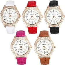 Luxury Casual Watch Women Girls Business Watch Crystal Anolog Quartz Wristwatch