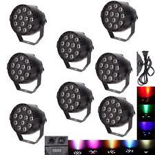 8X Super Bright 15W 12LED RGBW Stage mixing color PAR Light Strobe DMX 8 Channel