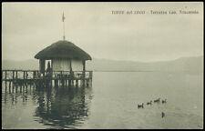 cartolina TORRE DEL LAGO terrazza cav.triscornia