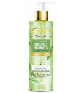 Bielenda Green Tea Purifying Micellar Cleansing Face Gel for Mixed Skin 200ml