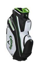 New Callaway Golf 2021 Org 14 Epic Cart Bag COLOR: White/Black/Green 14-Way Top