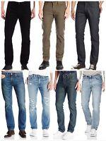Levis 511 Mens Slim Fit Denim Jeans Black Blue  28 29 30 31 32 33 34 36 38 40