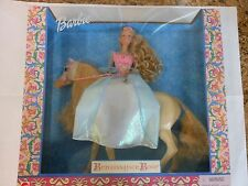 Barbie with Horse Renaissance Rose 2000 # 28633 NRFB NEW Mattel