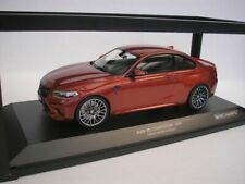 BMW M2 COMPETITION 2019 SUNSET ORANGE METALLIC 1/18 MINICHAMPS 155028004  NEU