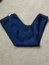 Ladies Navy Blue Primark Stretch Jeans. Size 16. New Without Tags