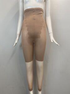 NWB SPANX Womens Original Footless Pantyhose Higher Shaper Capri Nude Size C