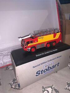 JAVELIN FIRE ENGINE MODEL LORRY TRUCK EDDIE STOBART AIR 1:76 ATLAS 4664109