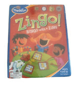 'ZINGO' Bingo with a ZING ThinkFun Family Children's Game Ages 4+, Sealed - NEW