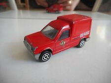 "Majorette Renault Express ""De Post"" in Red"