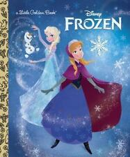 Frozen Little Golden Book (Disney Frozen) Disney Hardcover