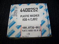 Sandvik Plastic Washer 1106-4 CJ612 8 each P/N 400.0736-001