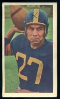 1954 CFL BLUE RIBBON TEA FOOTBALL #1 Jack Jacobs Winnipeg Blue Bombers Packers