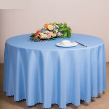 Home Round Table Cover Table Cloth Home Tablecloth Hotel Banquet Wedding Party