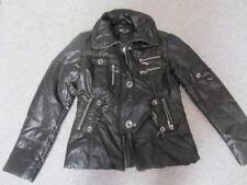 Jacke - Super Chic von feinsten - Buza trade mark - Gr.XL - Schwarz - Silber