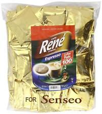 Philips senseo 100 x café rene crème café espresso pads sacs dosettes