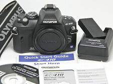 Olympus EVOLT E-410 10.0MP DSLR Camera Body, ONLY 3077 CLICKS, NEAR MINT!