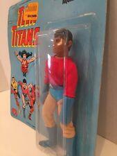 ULTRA RARE! Original Mego 1976 AQUALAD Teen Titans Action Figure Unpunched MOC