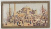 Mosque Of St Sophia Constantinople Istanbul Turkey 90+ Y/O Ad Trade Card